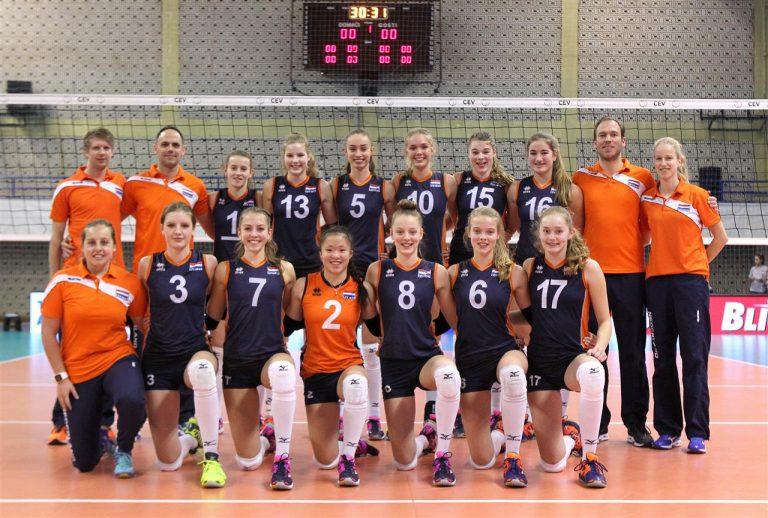 Jette Kuipers naar EK volleybal (U17)