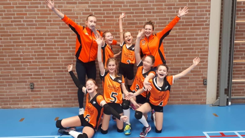 Dynamo Tubbergen Open Club teams ongeslagen door naar halve finale!