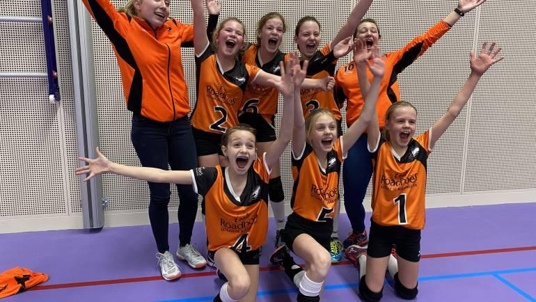 Dynamo meisjes CMV plaatst zich voor de finale van het NOJK!