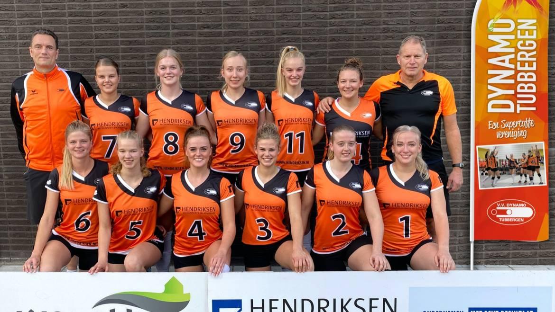 Dynamo dames 1 verliest ondanks goed spel!